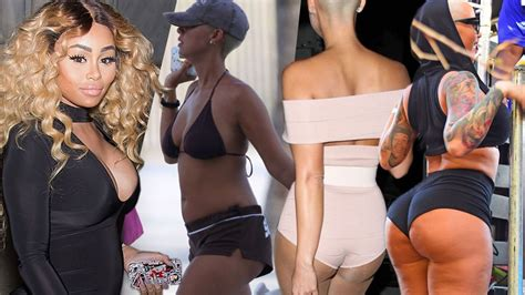 celebrity bikinis gone too far plastic surgery shocker see proof amber rose and blac
