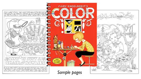 engelbreit coloring book engelbreit s color me coloring book charming designs