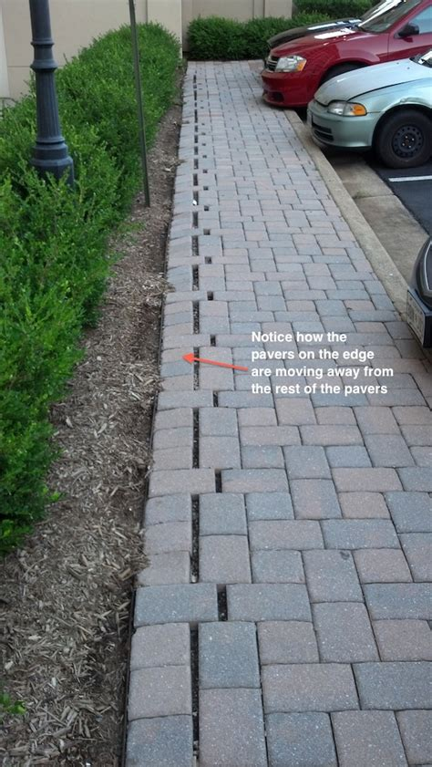 Patio Pavers Edge Restraints With A Significant Amount Of Help From My Family I A