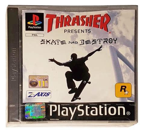 buy thrasher skate and destroy new sealed playstation