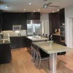 Kitchen with dark cabinets light granite quotes