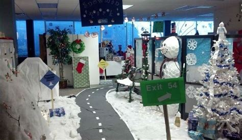 winter decorations for office 9 cubicle dwellers with serious spirit mnn nature network