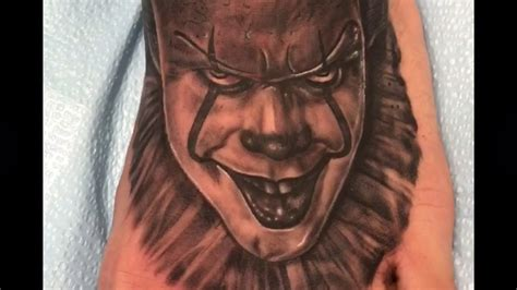 pennywise tattoo it new pennywise 2017