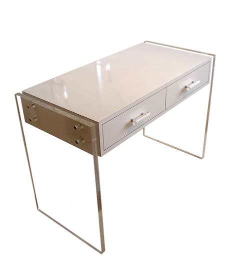 Lucite Office Desk 28 Images Desk With Wood Grey With Lucite Office Desk