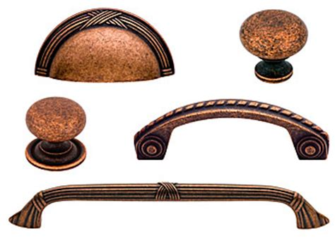 Copper Kitchen Cabinet Knobs by The Hardware Chronicles Cliffside Is Color