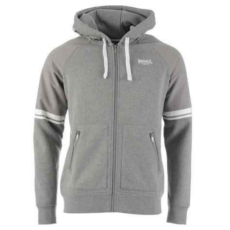 Sleeve Striped Hooded Top lonsdale mens heavy weight zipped hoody zip hoodie hooded