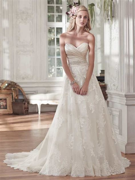 wedding dresses with romantic details modwedding