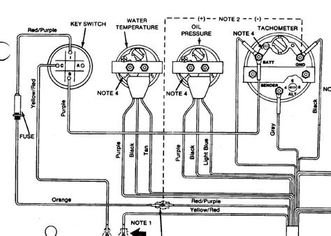 mercury outboard tachometer wiring diagram wiring diagram i have an 88 sea ray i need a wiring diagram for the touch i have a 4 3 engine in it the tach