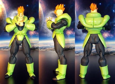 z android 16 r375 bandai s h figuarts z android 16 figure review welcome to hdtoytheater