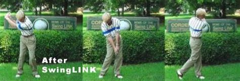 swing link golf training aid swinglink can improve your golf swing