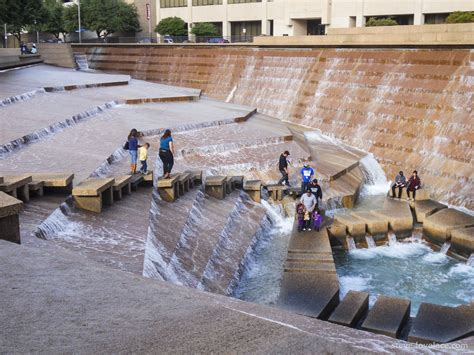 fort worth park fort worth water gardens steve