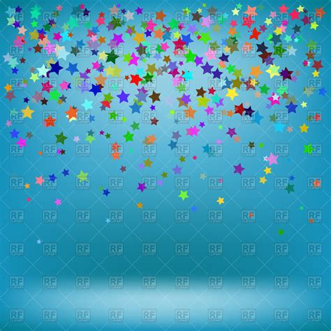 background clipart falling colorful background royalty free vector clip