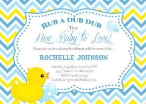 duck baby shower invitation templates rubber duck baby shower invitation duck printable