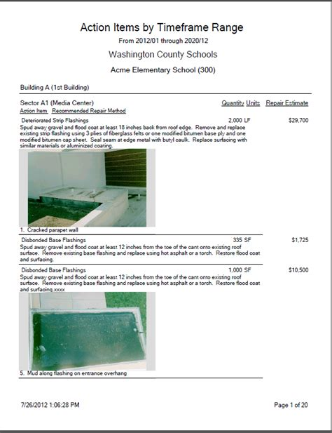 roof inspection report template roof inspection report images