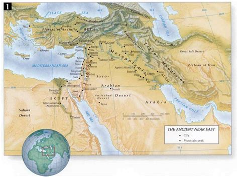 middle east map testament bible atlas