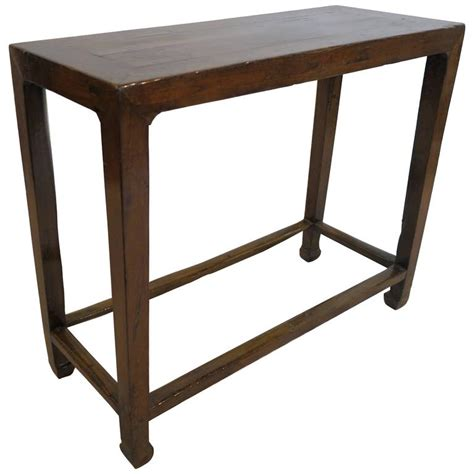 rustic sofa tables for sale 19th century minimal rustic console table for sale at 1stdibs