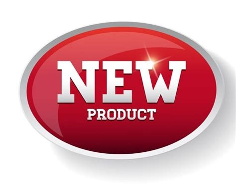 Free Red New Product Sticker Tag Vector 01   TitanUI