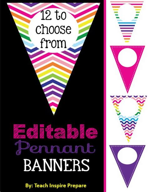 printable editable banner 17 best images about editable on pinterest printable