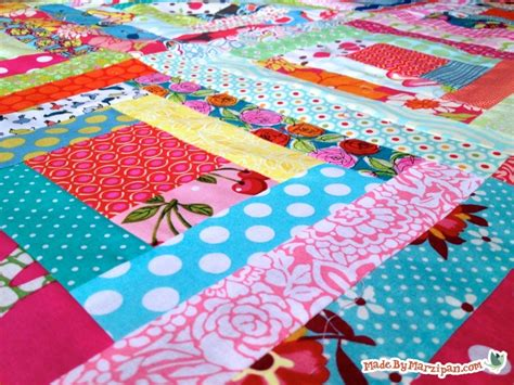 How To Make A Log Cabin Quilt Block by Sew A Log Cabin Quilt Block Made By Marzipan