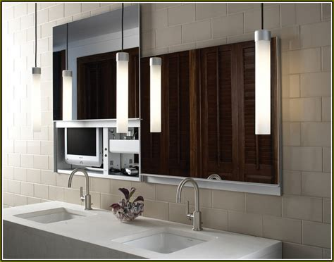 Robern Medicine Cabinets With Lights   Home Design Ideas