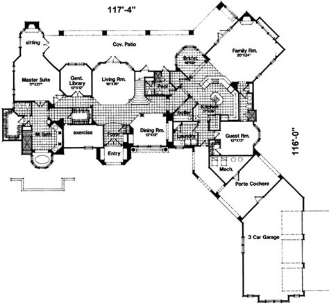 Home Plans With Porte Cochere by Craftsman House Plans Arborgate 30 654 Associated Designs