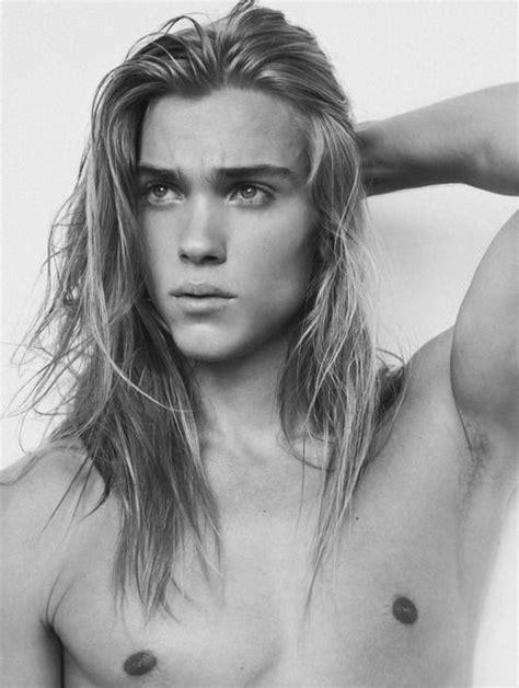 top long haired male models best 25 men long hair ideas on pinterest long hair man