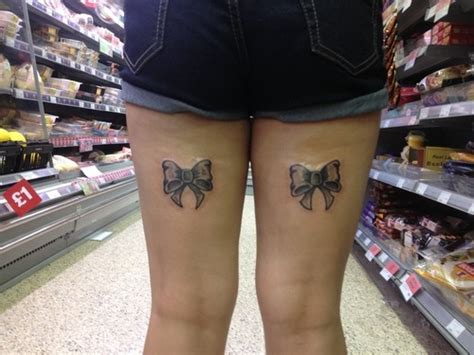 tattoo upper back thigh bow tattoos on back of upper thigh tattoo picture at