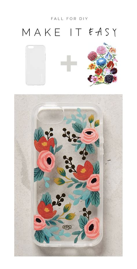 make it easy floral phone for