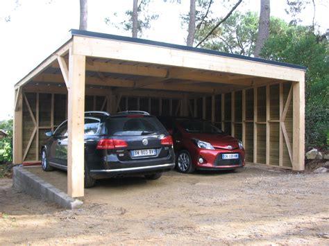Comment Construire Un Carport Plan by Fabriquer Un Carport En Bois