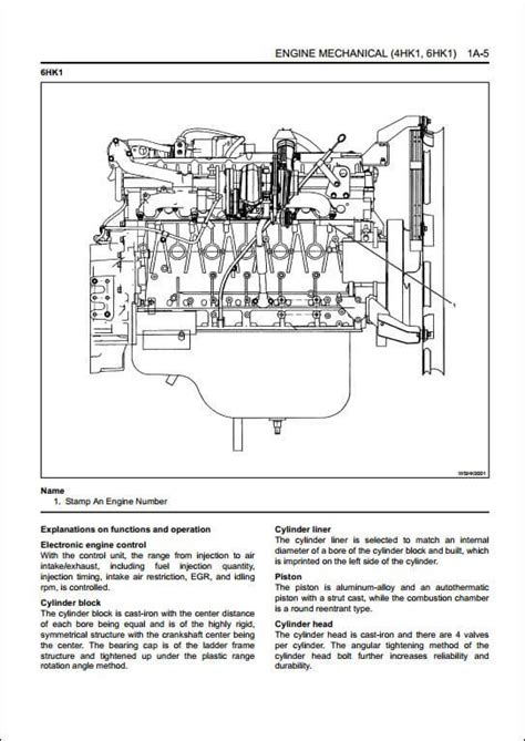 isuzu engine 4hk1 6hk1 workshop service repair manual a repair manual store