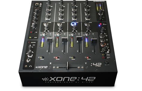 Mixer Allen And Heath allen and heath xone 42 professional 4 channel dj mixer