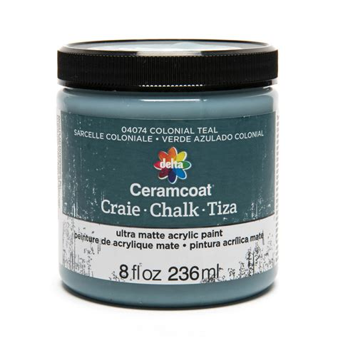 chalk paint teal shop plaid delta ceramcoat 174 chalk colonial teal 8 oz
