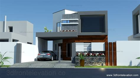 elevation of house plan 3d front elevation com 8 marla house plan layout elevation
