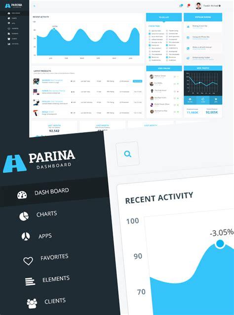 30 free futuristic dashboard ui ux psd templates