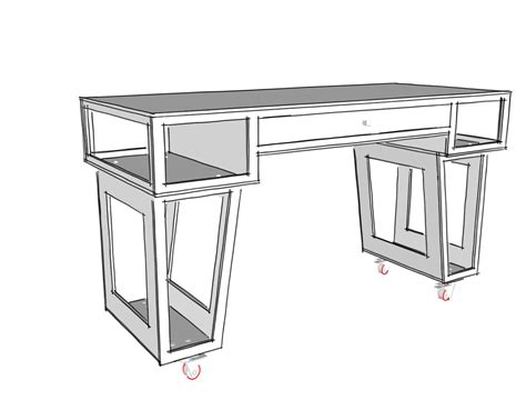 Paulk Stand Up Desk Plans Stand Up Desk Plans