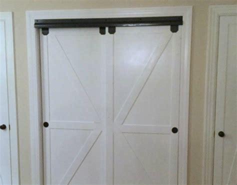 remodelaholic    bypass closet doors