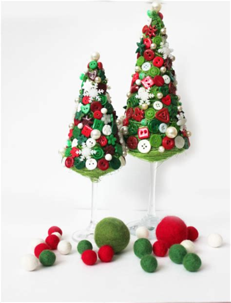 16 easy and fun ideas for handmade christmas trees