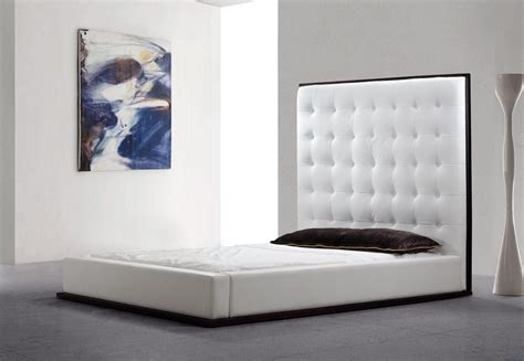 tufted leather bed tufted leather bed queen bed upholstered footboard and
