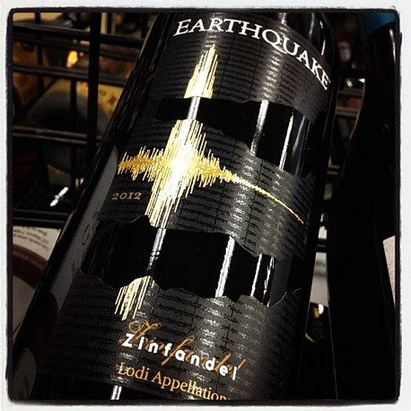 earthquake zin earthquake zinfandel 2013 im imperial montreux luxury goods