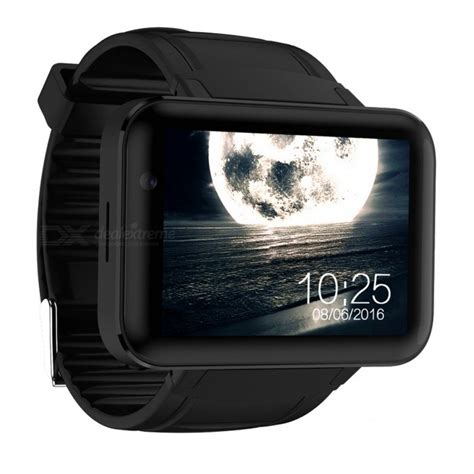 Android Smart Dm98 Rate Smartwatch Dm 98 Black domino dm98 android 3g smart phone with 900mah battery black free shipping dealextreme