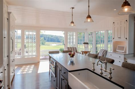 philadelphia sliding french doors kitchen traditional with
