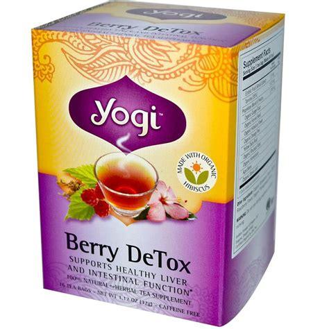 Diskon Yogi Tea Detox Caffeine Free 16 Tea Bags 1 02 Oz 29 G nekoterran