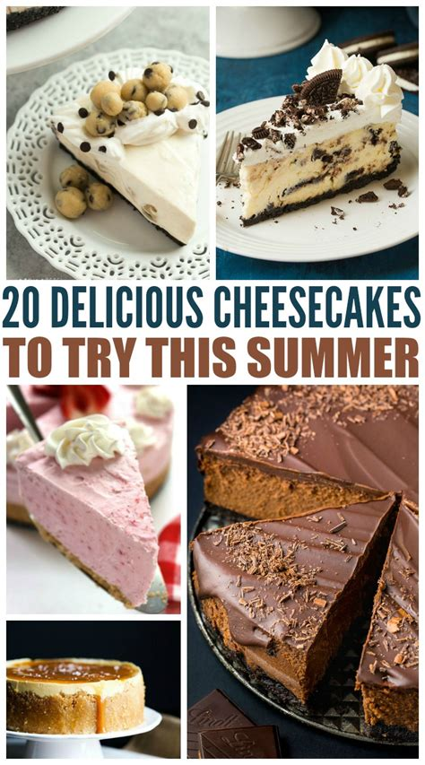 Delicious Pies To Try This Summer by 20 Delicious Cheesecakes To Try This Summer