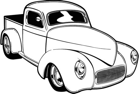 printable coloring pages hot rods hot rod coloring pages coloring home