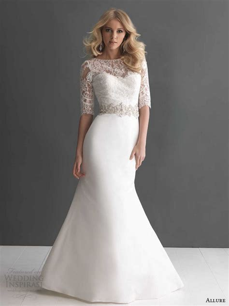 wedding gown sleeve styles bridals fall 2013 collections sponsor highlight