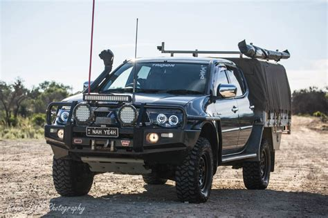 mitsubishi strada modified mitsubishi triton modified