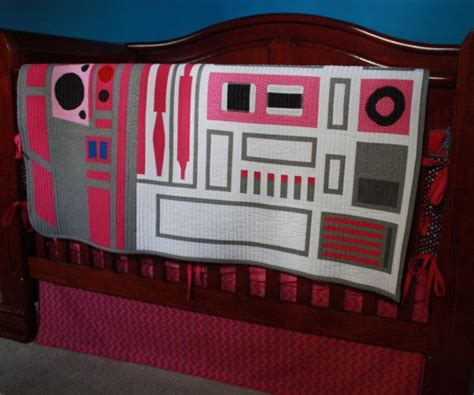 star wars baby bedding star wars baby bedding r2 kt pink r2 d2 custom crib bedding