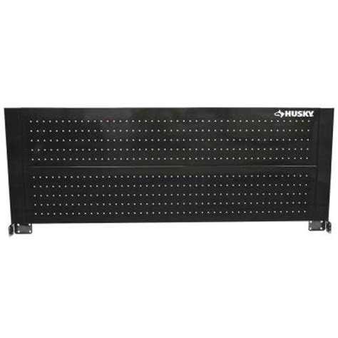 Husky 52 Quot Pegboard Back Wall For Tool Cabinets Truckload by Husky 52 In Pegboard Back Wall For Tool Cabinet Black