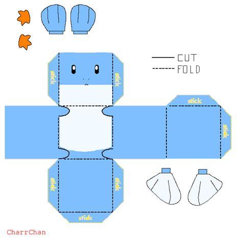 Mudkip Papercraft - mudkip papercraft by charrchan on deviantart