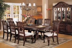 How To Set A Dining Table Formal Formal Dining Room Sets For 8 Homesfeed